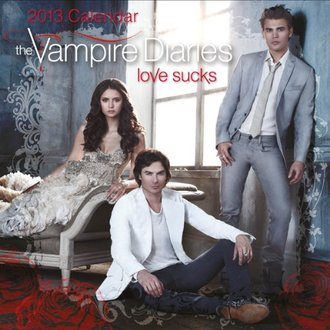 THE VAMPIRE DIARIES LOVE SUCKS Official Календарь 2013