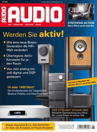 AUDIO Magazin Mai 2013