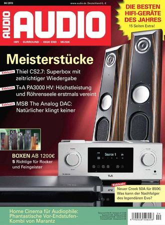 AUDIO Magazin April 2013
