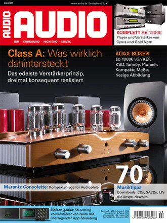 AUDIO Magazin Marz 2013
