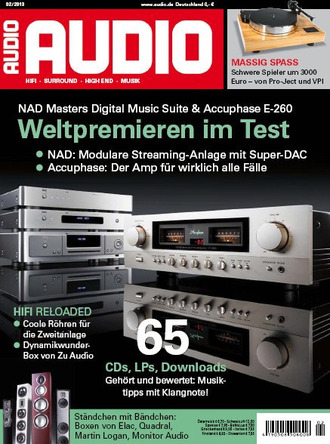 AUDIO Magazin Februar 2013