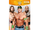 WWE  Wrestling Official Календарь 2015 ИНОСТРАННЫЕ КАЛЕНДАРИ 2015, WWE  Wrestling Official 2015