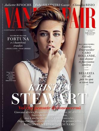 VANITY FAIR Italia Magazine October 2014 Kristen Stewart Cover ИНОСТРАННЫЕ ЖУРНАЛЫ