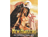 New Amazons The Paiting Of Claudio Aboy ART BOOK ИНОСТРАННЫЕ КНИГИ