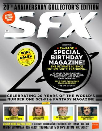 SFX Magazine № 261 July 2015 20th Anniversary Collector's Edition ИНОСТРАННЫЕ ЖУРНАЛЫ О КИНО